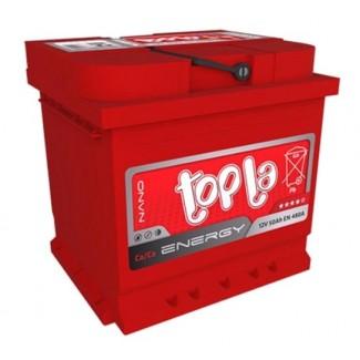 Аккумулятор 6СТ-50   TOPLA  ENERGY  Обратная полярность