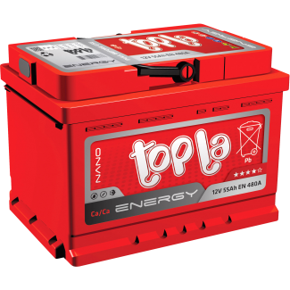 Аккумулятор 6СТ-60   TOPLA  ENERGY  Обратная полярность