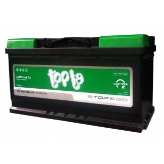 Аккумулятор 6CT-95     TOPLA  AGM Stop&Go  Обратная полярность