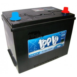 Аккумулятор 6CT-75  TOPLA  TOP  Обратная полярность
