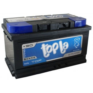 Аккумулятор 6CT-85  TOPLA  TOP  Обратная полярность
