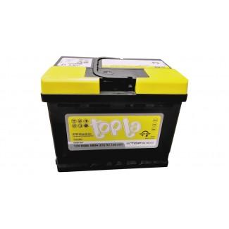 Аккумулятор 6СТ-60   TOPLA  EFB Stop&Go  Обратная полярность