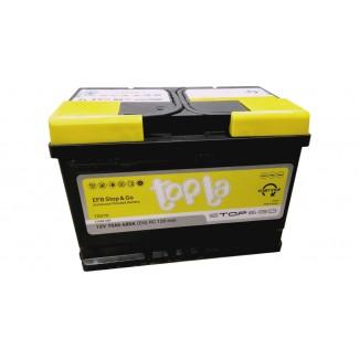 Аккумулятор 6СТ-70   TOPLA  EFB Stop&Go  Обратная полярность