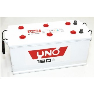 Аккумулятор 6СТ-190 UNO  Курский аккумулятор  Прямая полярность