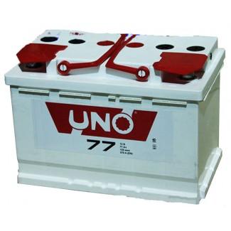 Аккумулятор 6СТ-77 UNO  Курский аккумулятор  Прямая полярность