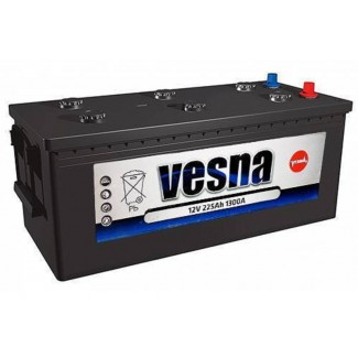 Аккумулятор 6CT-225 VESNA  POWER TRUCK  Обратная полярность