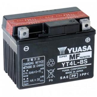 Аккумулятор 6СТ-3 YUASA  YT4B-S  Прямая полярность