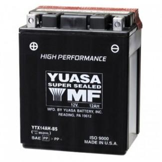 Аккумулятор 6СТ-12 YUASA  YTX14AHL-BS  Обратная полярность